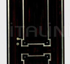 BOLSHOI 2024/QQ Red silver Decape black lacquer finish Classic Wood Interior Doors