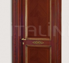 LA MARINA 3012/QQ Marina archway with gold frames and metal elements Classic Wood Interior Doors
