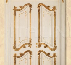 PALAZZO REALE 1032/QQ/INT casing with cyma Palazzo Reale Classic Wood Interior Doors