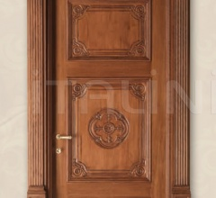LOUVRE 8015/QQ/INT casing with cyma Louvre oak wood glazed Classic Wood Interior Doors