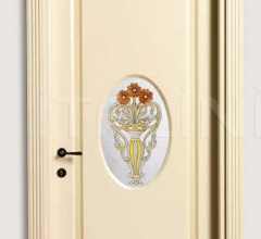 VILLA GRABAU 713 OV/QQ/A/V Pant. A Classic Wood Interior Doors