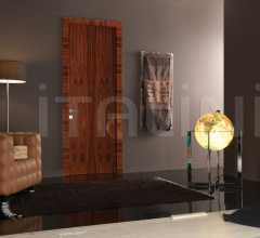 Giudetto Maxi 1011/QQ/A Gloss brushed rosewood. Modern Interior Doors
