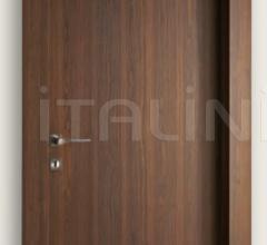 Giudetto PCP 1011/QQ/A Multilaminar walnut tobacco finish. Modern Interior Doors