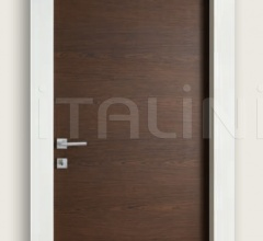 Giudetto PCP 1011/QQ/H Brushed multilaminar oak tobacco finish. Modern Interior Doors