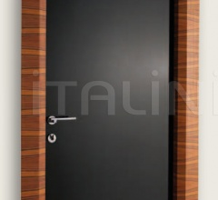 Giudetto LAC 1011/QQ Gloss brush lacquered black. Modern Interior Doors