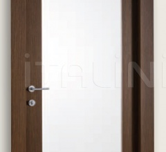 Mart Stam 1903/QQ/V Wenge brush stained oak internal frosted glass. Modern Interior Doors
