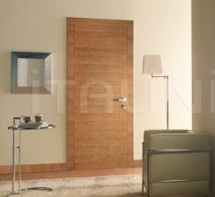 Giudetto FP 1011/QQ/H Brushed oak pickle-stained white. Modern Interior Doors