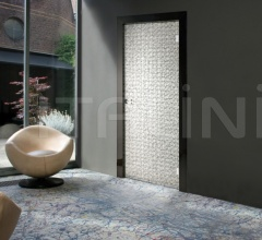 Giudetto Glass 1900V/QQ/VA Type A glass (tempered layered with fabric). Modern Interior Doors