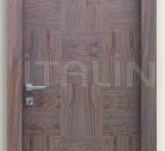 Giudetto Patch 1011/QQ/PW1 Glycine patchwork finish olive (type 1). Modern Interior Doors