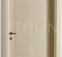 GIUDETTO 1011/QQ/INC Bleached ash with incisions, Cover moulding 8/7 Modern Interior Doors