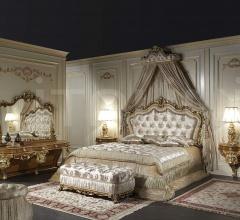 Testiera elegante, letto Luigi XV Francia
