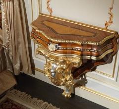 Letto matrimoniale classico, collezione Camera Barocco- art. 2013