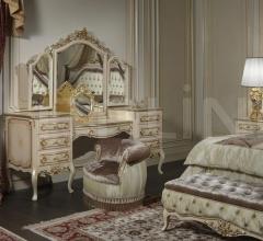 Panca classica e letto barocco, collezione Camera Barocco- art. 2013