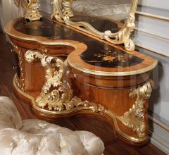 Toilette di lusso intagliata Emperador Gold, art. 397-931- art. 397