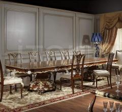 Letto classico con testata in noce e intagli dorati, collezione Luigi XVI Noce e Intarsi- art. 2011