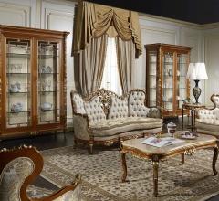 Sala di lusso Versailles in legno e cristallo