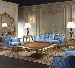Salotto Barocco classico di lusso intagliato e dorato