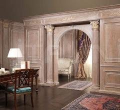 Armadio classico Settecento con interno in legno laccato