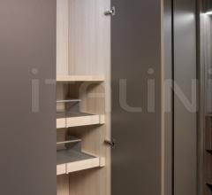 Ray door for hinged wardrobe