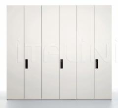 Extra door for hinged wardrobe