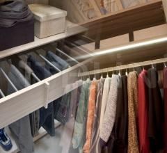 Internal equipment for wardrobe