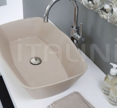 Washbasin Shell Glossy white