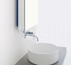 Mirror with LED band