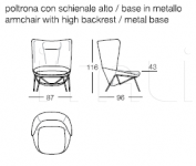 Кресло Ladle large Arflex