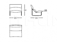 Кресло Taboga Arflex