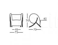 Кресло Virgola Arflex