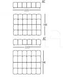 Кровать Strips Arflex