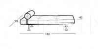 Лежак Day bed Arflex