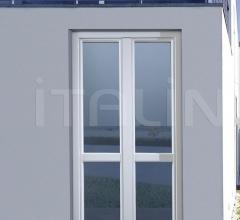 con esterno alluminio