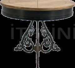 FIRENZE 2 BICOLOR TOP TABLE - CLASSIC 3 LEGS ANTIQUE