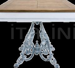 ORVIETO 1 BICOLOR TOP TABLE - CLASSIC 4 LEGS ANTIQUE