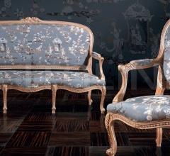 A 1027 Sofa-A 1028 Armchair