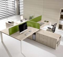 Co.Work Walnut Table