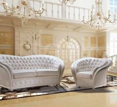 Versailles in pelle bianca cat. Standard
