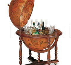 """Antique style"" large bar globe ""Achille"""