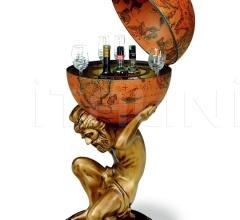 """Atlas"" statue bar globe - Classic"