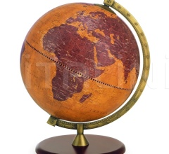 "Gea desk globe on wooden base ""Sagittarius"""