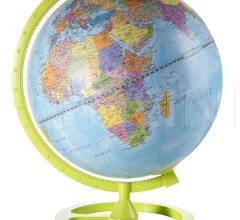 """Colour Circle"" educational desk globe - Lime"