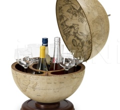 """Urano"" desk bar globe"