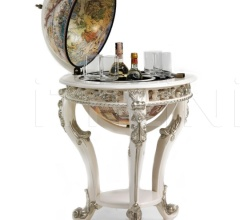 """Versailles"" baroque floor bar globe"