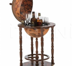 "Bar Globe with small bottle storage ""Crono"" - Classic"