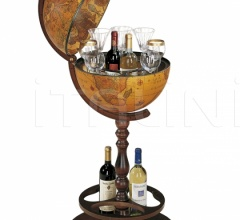 "Classic bar globe equipped with hidden wheels ""Icaro"""