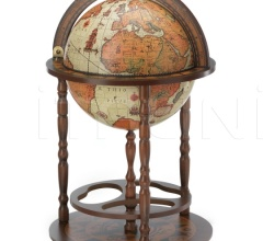 "Beech tree bar globe with storage space inside ""Giunone"" - Safari"