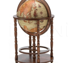 "Elegant bar globe with wheels ""Minerva"" - Safari"