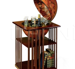 "Bar globe with bookshelf ""Dafne"" - Classic"