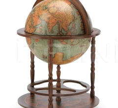 "Vintage bar globe with wide lower shelf ""Calipso"" - Laguna"
